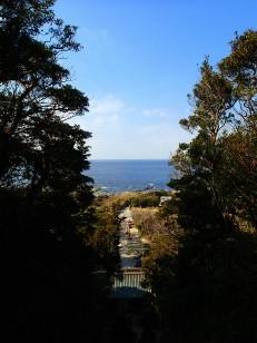 洲崎神社遠景